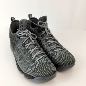 low cost 64b0c e13d3 Nike Shoes - Nike Zoom KD 9 Battle Grey Kevin Durant Sneakers